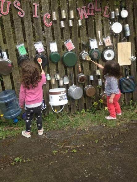 Die neuesten Fotos Hinterhof für Kinder Musik Wand Tipps Rezept
