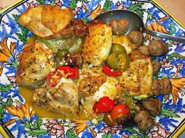 Chicken Scarpariello Recipe - Lidia Bastianich | Lidia ...