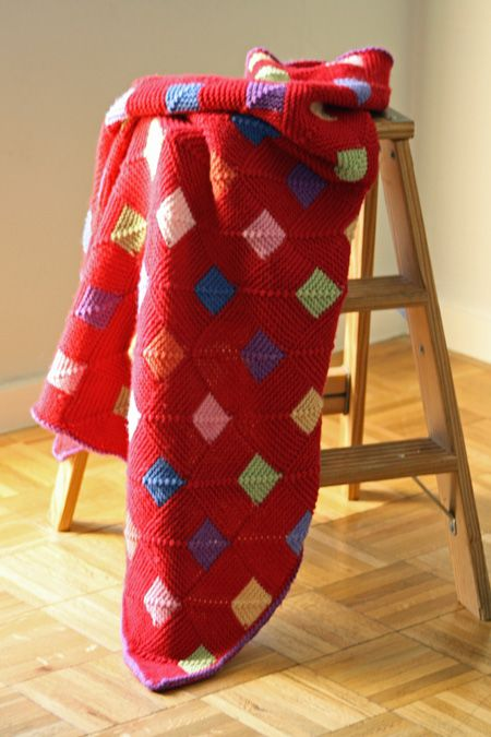 .would make this with solid black and sock yarn remnants!