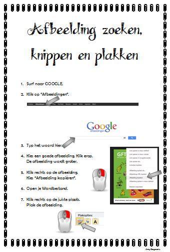 Stappenplan: afbeeldingen zoeken, knippen en plakken in Word - KlasCement