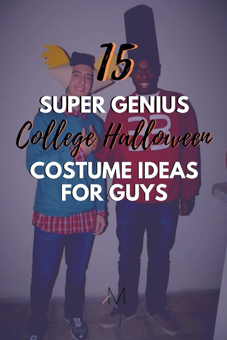 15 Super Easy College Halloween Costumes for Guys