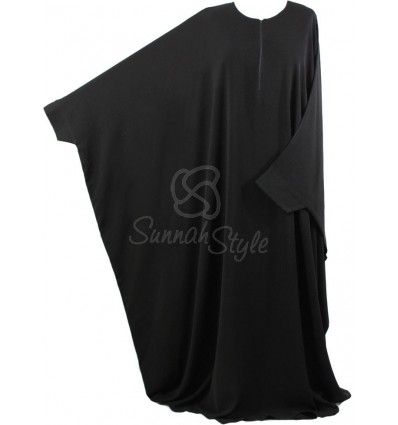 Essential Bisht Abaya (Black)