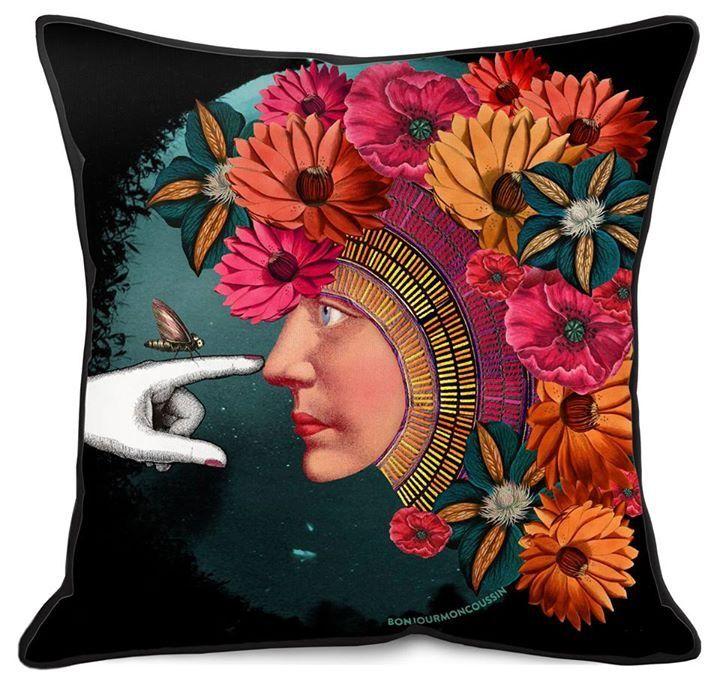 #newcollection #coussin #cushion #pillow #sac #trousse #accessoires #accessories #createurfrancais #designer #design #decoration #mode #homedecor #homedesign #boutique #shop #fificanarishop #var #cotedazur #draguignan ☀️