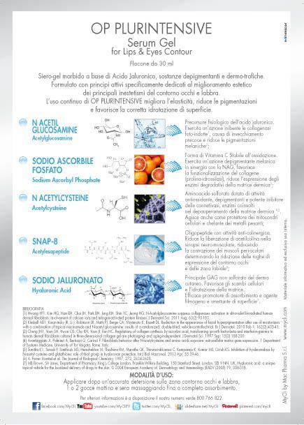 #OpPlurintensiveSerumGel innovativa formulazione a base di #acidoialuronico  Efficace sin dalla sua prima applicazione!