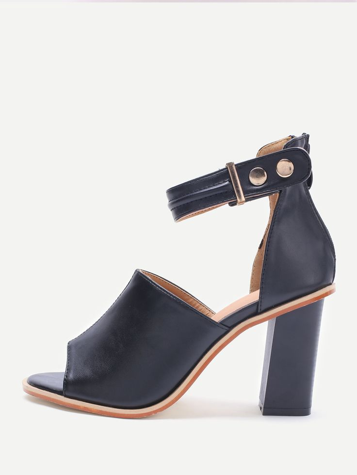 1000  ideas about Chunky High Heels on Pinterest | Thick heels
