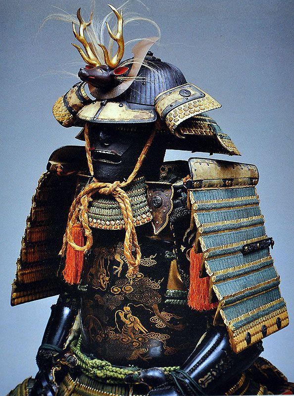 Samurai armor - Literature: Kyoto Arashiyama Bijutsukan. Tetsu to urushi no geijutsu: Kyoto Arashiyama Bijutsukan zohinshu [The arts of iron and lacquer: the collection of the Kyoto Arashima Museum], Buke bijutsu shiryoten [Exhibition of samurai art] (Kyoto, 1986).