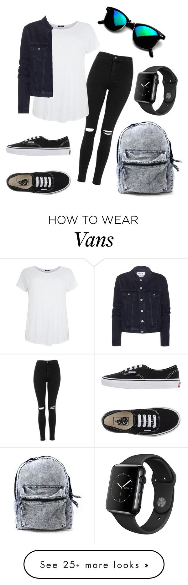 """My fav outfit ❤️"" by eemaj on Polyvore featuring Topshop, Acne Studios and Vans"