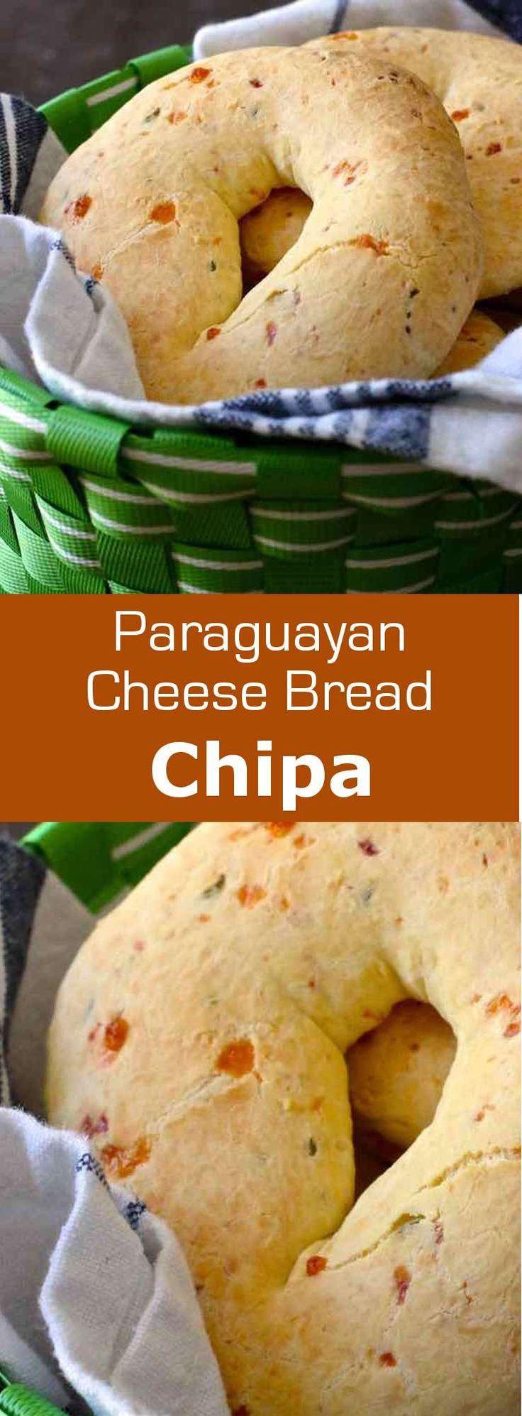Chipa is a small traditional cheese bread from Paraguay, which is especially…