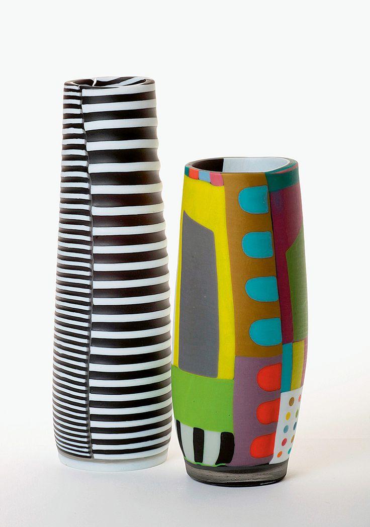 Anu Penttinen - glass vessels.