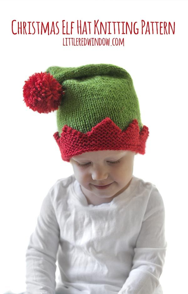 992e93a5e Christmas Elf Hat Knitting Pattern | ~knitting patterns~ | Christmas ...