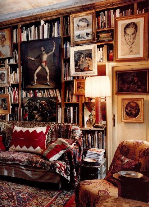 Layer Art w BooksLibraries, Book Art, Interiors Design, Living Room, Bookcas, Layered Rugs, Home Design, Design Home, Studios Peregalli