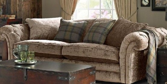 DFS sofa  crushed velvet  Decorating  Country style living room Living room themes Country