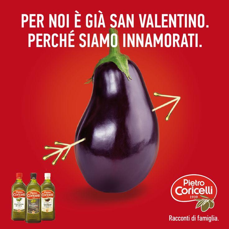 Per noi è già San Valentino. Perché siamo innamorati.  #sanvalentino #valentine #love #pietrocoricelli #oliveoil #olioevo #extravirginoil #innamorati