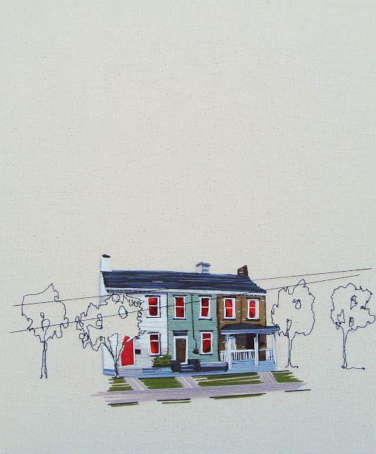 stephanie k. clark : embroidery