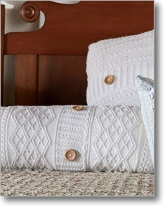 The Kissen Brigitta knitted pillow covers are a great way to decorate your knitted nest! Save 10% on this download with code CRAFT10. Coupon ends March 31, 2013. #CraftMonth #knittingdaily