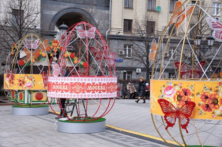 The Easter Gift Festival Opened in Moscow