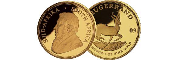 Krügerrand Goldmünzen Ankauf