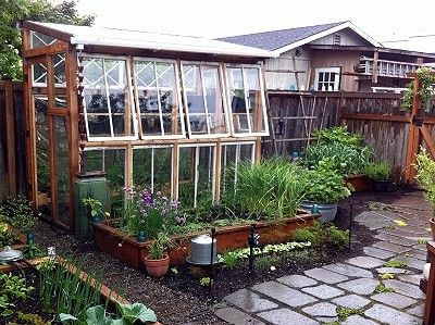 3 Easy DIY Greenhouses for Under $300--Don't know if I'll every build one, but I dream.