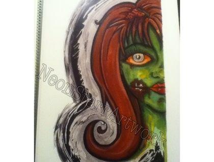 """Zombie""+Horror+print NZ Art #forsale #etsy"