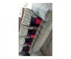 L-Shaped 7 seater sofa set for sale