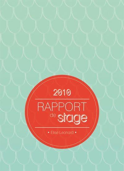 illustration rapport de stage