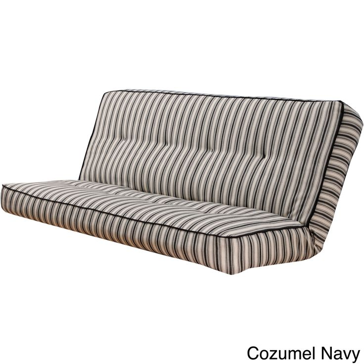 Update Your Futon S Look With This Striped Cover For Full Size Mattresses It