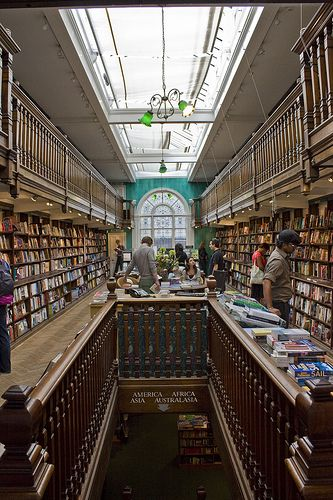 Daunt Books #London - a perfect place to book shop, especially for travel titles