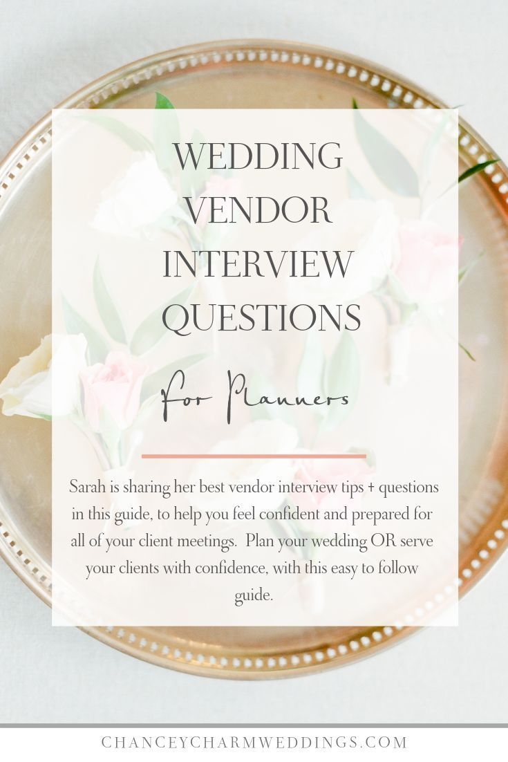 Questions To Ask Wedding Vendors Questions To Ask Vendors For Your Wedding In 2020 Wedding Planner Business Wedding Planning Tips Wedding Planner