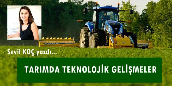 Tarımda Teknolojik Gelişmeler