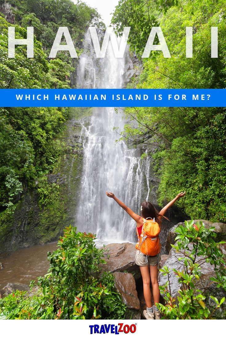 Not sure which island is perfect for you? Each one offers something special for any type of vacation you wish to embark on.  Is it Oahu, the Big Island, Kauai and Maui? Or the other smaller islands like Lanai and Molokai. Learn more at http://www.travelzoo.com/blog/which-hawaiian-island-is-for-me/?utm_source=_Pinterest&utm_medium=social&utm_campaign=HawaiiIsland&source=_pinterest | Travel Tips + Tricks