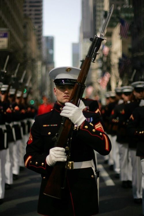 I would do anything to be able to join the United States Marine Corps!