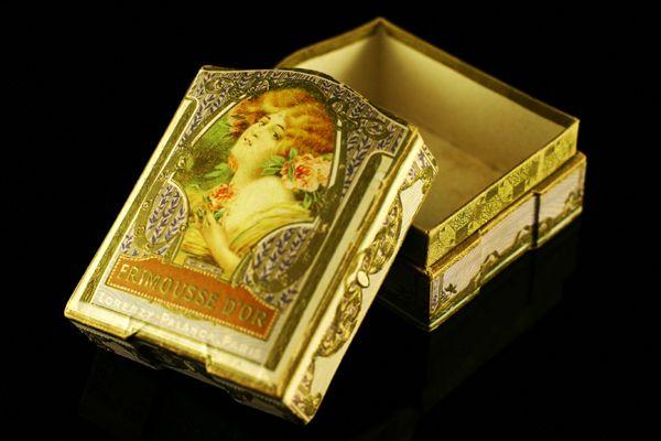 Frimousse d'Or Lorenzy-Palanca | Art Francais – Art Nouveau Art Deco glas & parfum