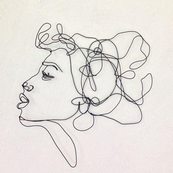 25  best ideas about wire art sculpture on pinterest