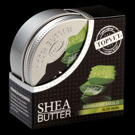 Bambucké maslo sa získava z jadier orieškov posvätného afrického stromu Shea. Bambucké maslo patrí vďaka vysokému obsahu nenasýtených mastných kyselín, voskov a vitamínov medzi najluxusnejšie kozmetické suroviny. Veľmi rýchlo sa vstrebáva a pokožku dokonale hydratuje, vyživuje a zvyšuje jej pružnosť a vláčnosť. Pokožka je po ošetrení jemná a elastická.