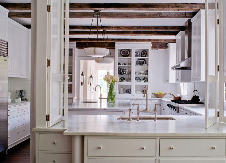 House Tour: American Tudor   Design Chic   Darryl Carter Inc. Beach House  KitchensDream ...