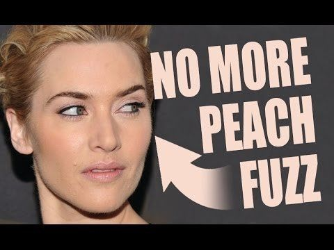 HOW TO COVER PEACH FUZZ ON YOUR FACE!