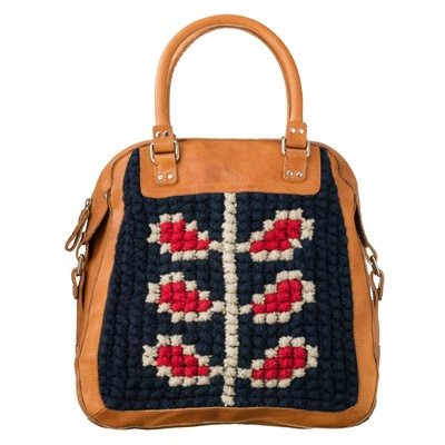 embroidery, leather trip