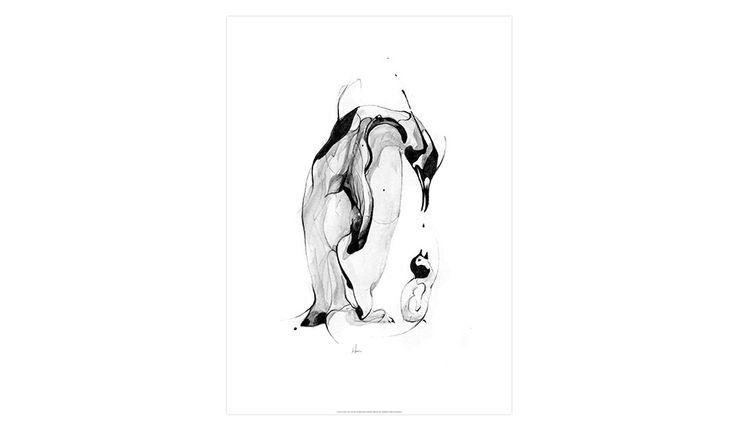 MONOQI   Penguin Fuel Print