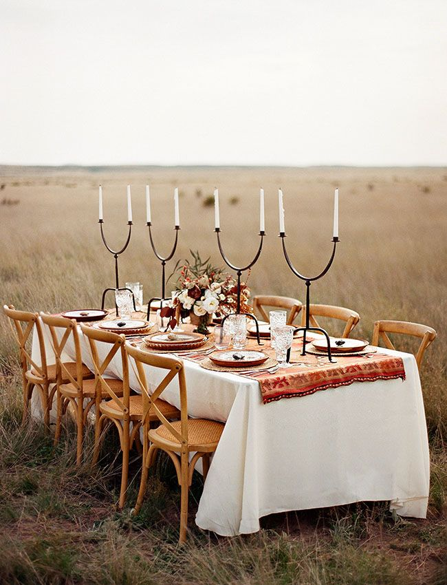 rustic wedding tablescape ~ we ❤ this! moncheribridals.com #rusticwedding