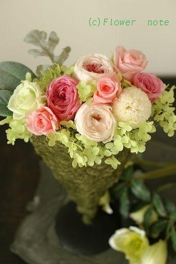 『やっぱりピンクが好き』 http://ameblo.jp/flower-note/entry-11321879684.html