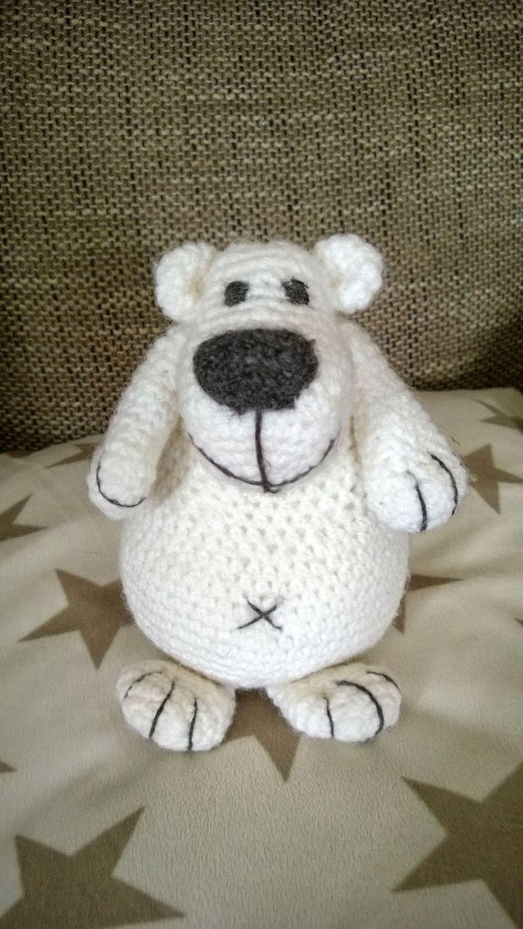 lexyskreativblog: Amigurumi Eisbär