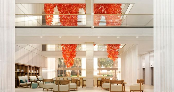 Hilton Barcelona hotel - Lobby