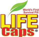 Life Caps is a multivitamin pill that helps people get the proper nutrition while in emergency or survival situations. Life Caps helps your body breakdown energy stores by providing necessary vitamins and nutrients in an easily bioavailable multivitamin. It is a great survival pill in starvation situations.