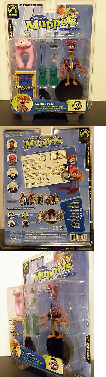 Muppets Sesame Street 2627: Palisades Henson Muppets Vacation Pepe Exclusive Figure Sam Goody Media Play -> BUY IT NOW ONLY: $34.99 on eBay!
