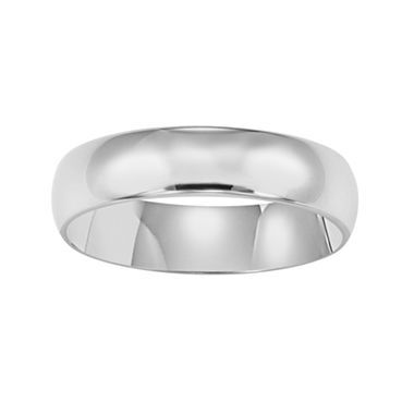 Awesome Mens White Gold Wedding Band K jcpenney