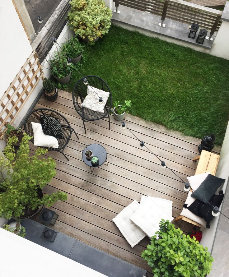 At Home : une terrasse de ville ethnique chic en b…