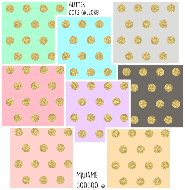 The Glitter Dots Gallore! ✨ info@madamegoogoo.com ✨