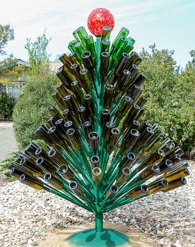 Wine Bottle Tree   Bottled up   Pinterest   Trees, Wine ...