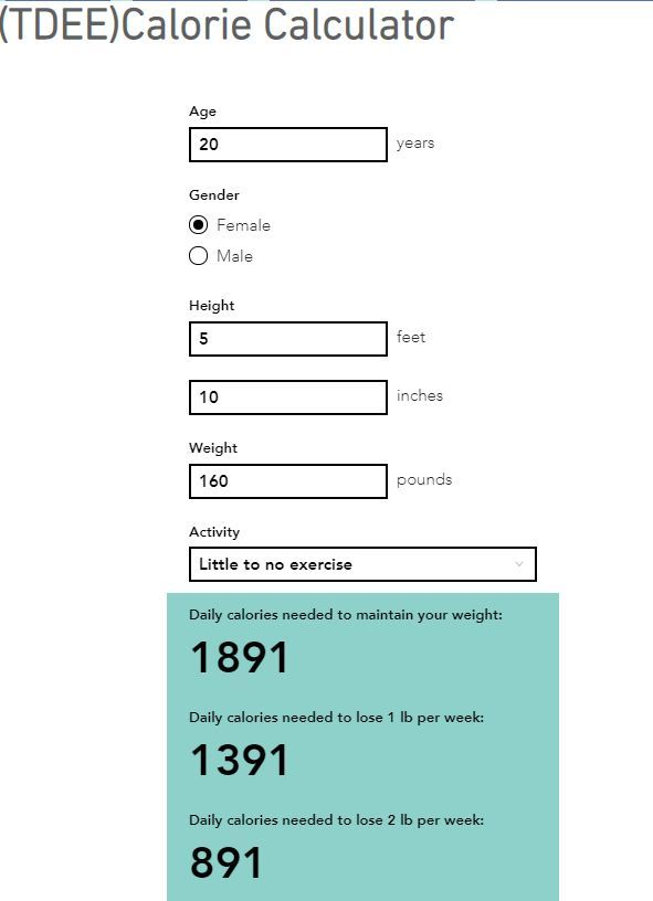 This Calorie Calculator is based on the Mifflin-St Jeor Equation which  calculates basal metabo… | Calorie calculator, Daily calorie calculator,  Basal metabolic rate