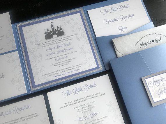 Custom Wedding Invitation Fairytale